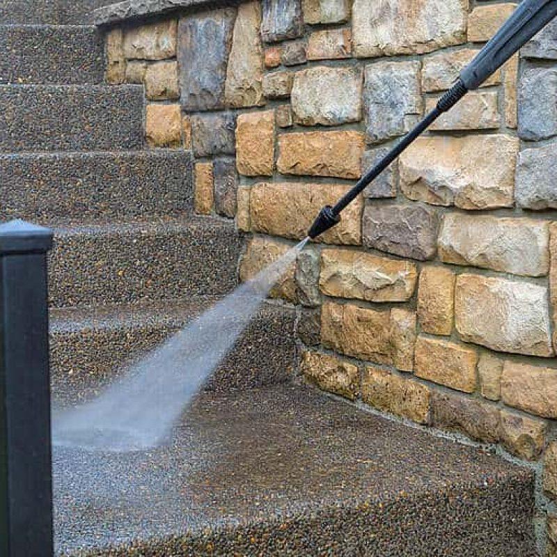 power washing steps